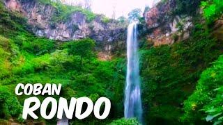 Wisata Air Terjun Coban Rondo Kecamatan Pujon, Kota Batu, Kabupaten Malang, Jawa Timur.
