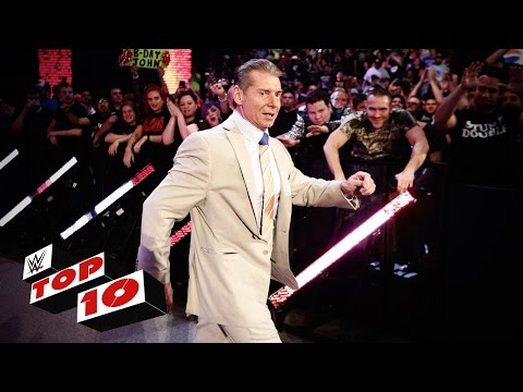 Top 10 Raw moments: WWE Top 10, July 11,...