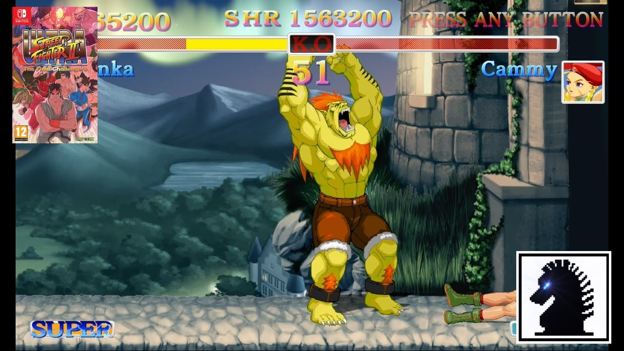 NS Ultra Street Fighter II: The Final Challengers - Blanka