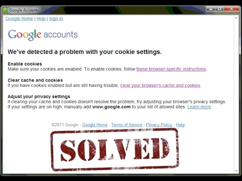 Weve detected a problem with your cookie settings solved weve detected a problem with your cookie settings solved ccuart Image collections