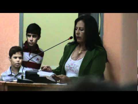 PRONUNCIAMENTO DA VEREADORA MARIA DO CAL, ICÓ -CE 08/03/2012