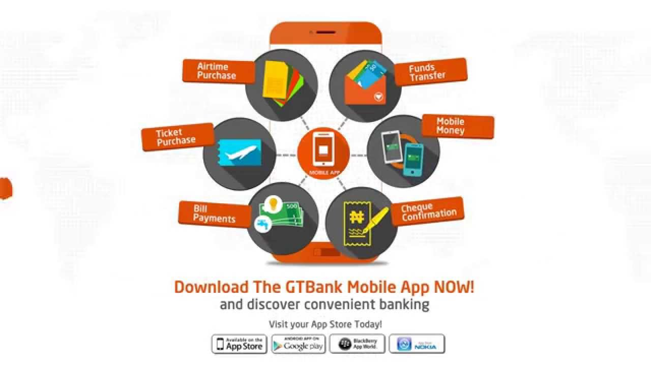GTB mobile banking app Download For Android, iOS & BlackBerry