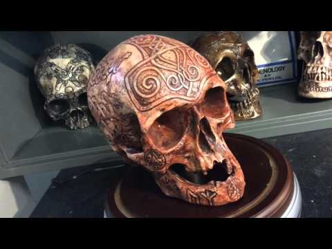 Odinson Thor Skull - Carved By Zane Wylie