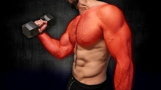 10min Home MUSCLE BUILDING Workout (DUMBBELLS ONLY!!)