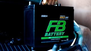 [Review] Battery FB Premium Gold SMF : ทดสอบแบตเตอรี่ เอฟบี พรีเมี่ยม โกลด์ เอสเอ็มเอฟ ใหม่