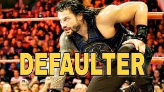 Defaulter Roman Reigns Roman Reigns Punjabi Song Roman Reigns Song Roman Reigns