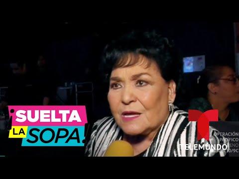 Carmen Salinas Defiende A Maribel Guardia De La Mamá De Geraldine Bazán   Suelta La Sopa
