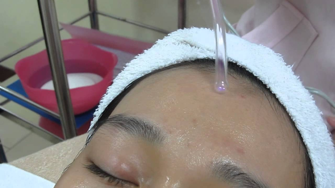 High frequency facial unit