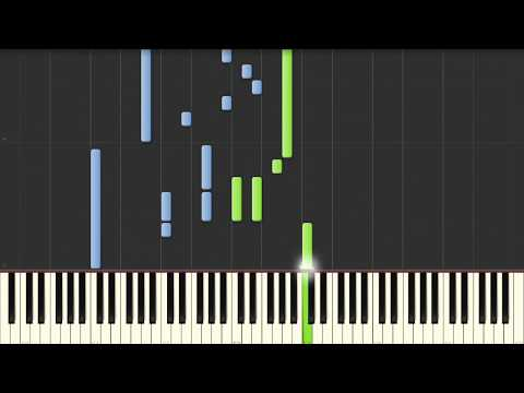 Twilight - Bella's Lullaby - Piano Tutorial (Synthesia)