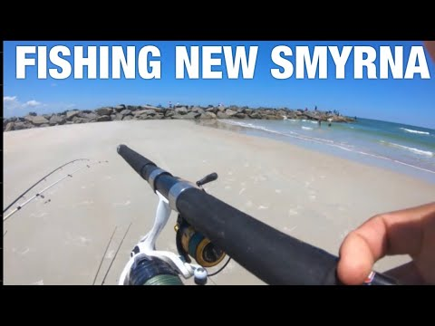 Insane FISHING AT NEW SMYRNA BEACH!!! (6 Species Caught In One Day)