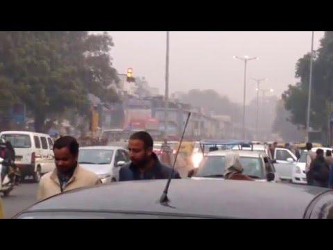 New delhi city in the morning travel india
