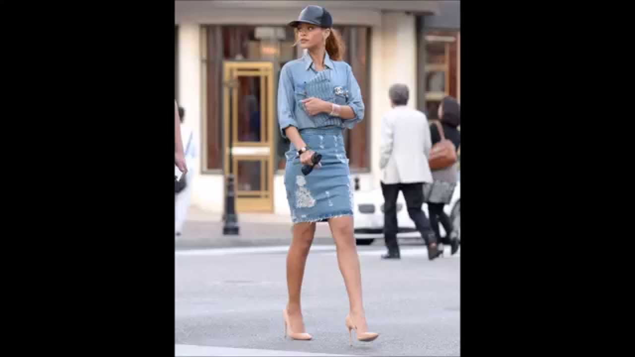 Rihanna Street Style Youtube