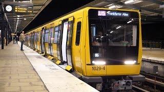 U-Bahn Berlin - IK17 Erster Fahrgasteinsatz auf der U5 [4K50P]