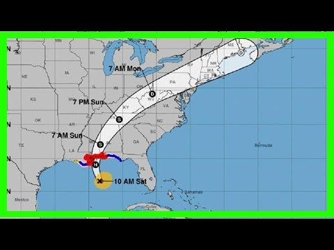 Breaking News   National hurricane center: hurricane nate now 'expected' to be category 2 upon land