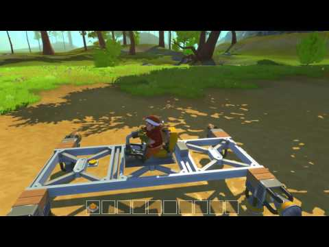 Scrap Mechanic Gameplay Ep. 08 Flying Platform! Lets Play