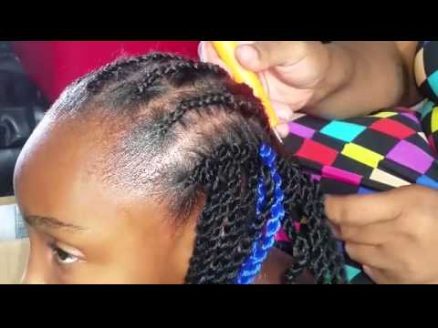 Crochet Braids Small Twist : CROCHET TUTORIAL SMALL ROPE TWIST - YouTube