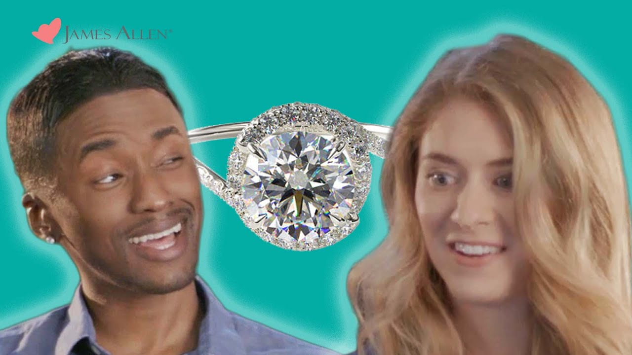 Couples Take The Engagement Ring Challenge // Presented by BuzzFeed &  JamesAllen com