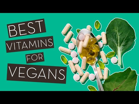 The Best Supplements For Plant-Based Diets}