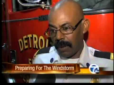 Detroit and DTE brace for high winds.