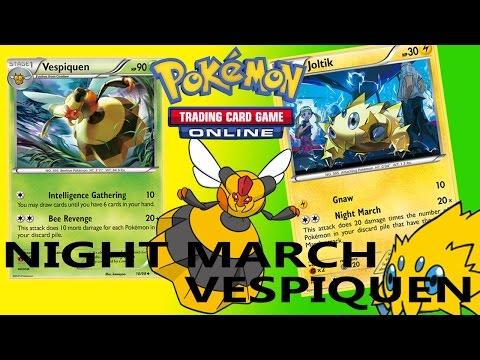 PTCGO - Night March / Vespiquen 2016 Nationals WINNING DECK LIST Deck Profile - Pokemon TCG Online