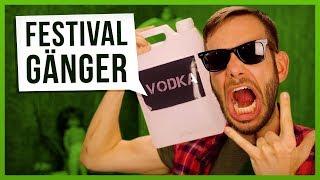 10 Arten von Festival Gängern