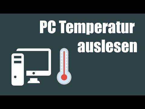 Computer PC Temperatur Anzeigen | CPU | Festplatte | Grafikkarte | Mainboard