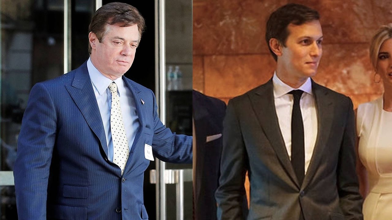 Image result for photo of jared kushner and paul manafort