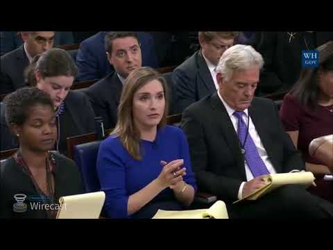 White House press briefing with Pres Trump's chief o staff Gen  John Kelly