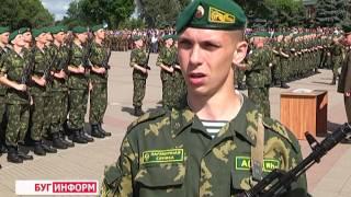 2016-06-14 г. Брест. Областная присяга военнослужащих. Новости на Буг-ТВ.