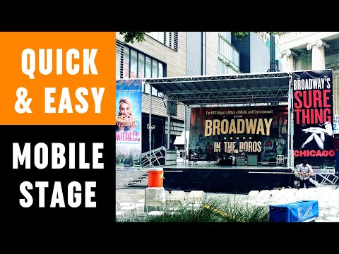 Rent Stageline SL50 Mobile Stage - New York, NJ, CT, PA