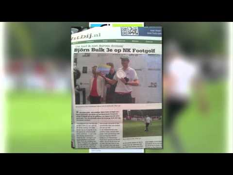 FootGolf highlights 2014 Bjorn Bulk
