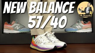 New Balance 57/40 'White/Multicolor' • On-Feet & Overview