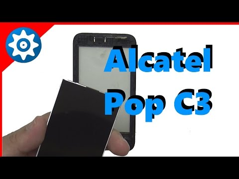 Troca de ecra | Alcatel One Touch Pop C3 | LCD Replacement