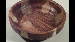 WoodTurning - Special bowl (Combination of wood)