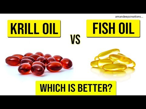 Krill Oil Vs Fish Oil (EPA And DHA Rich Supplements) | Which Is Better For You?