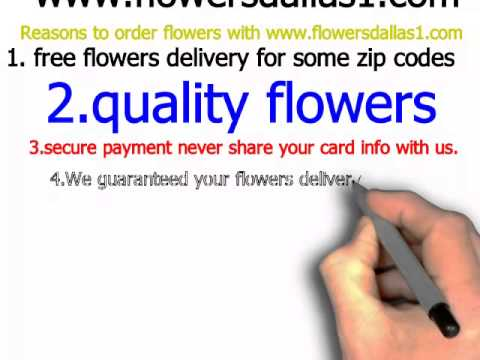 video:Reasons to order flowers with www flowersdallas1 com