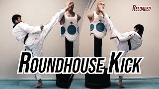 Learn Taekwondo Roundhouse Kick in Two Minutes | TaekwonWoo Reloaded