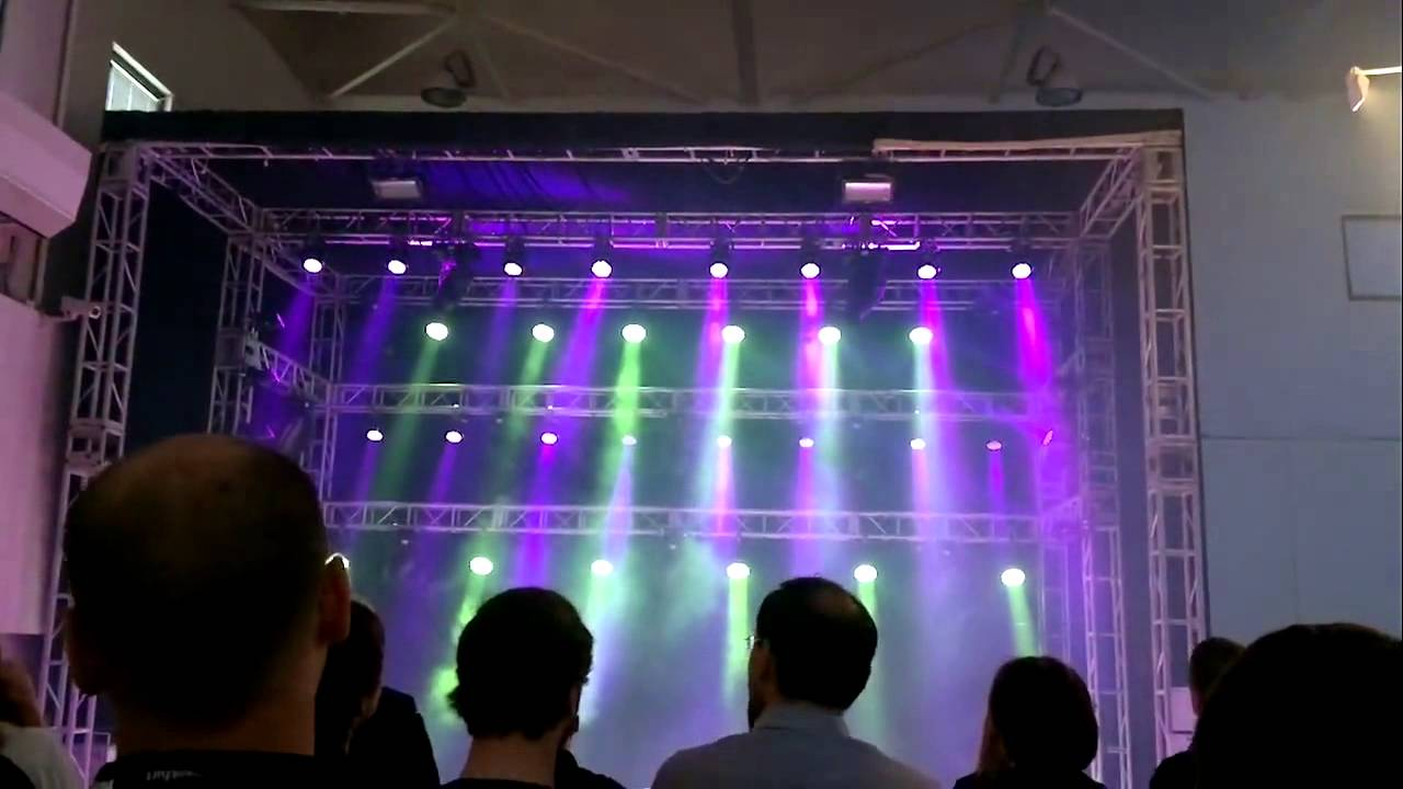 Ii lighting design competition from martin professional final
