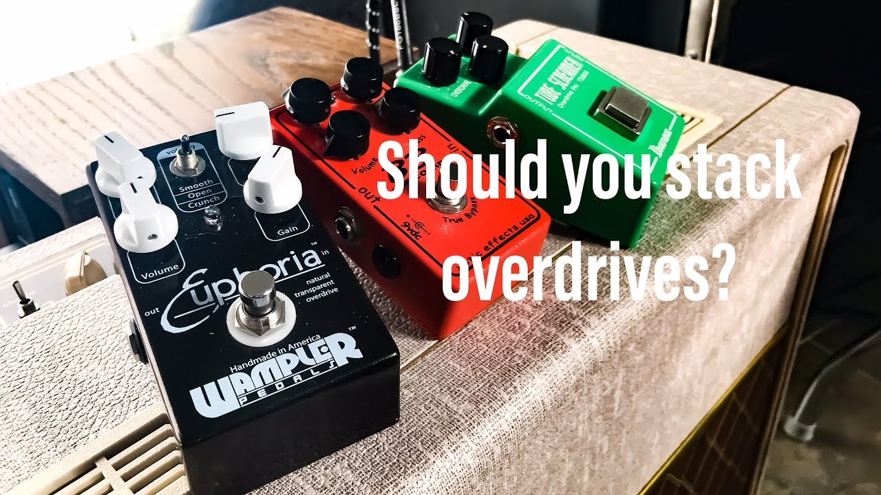 worship guitar sound should you stack overdrive pedals yes you should youtube. Black Bedroom Furniture Sets. Home Design Ideas