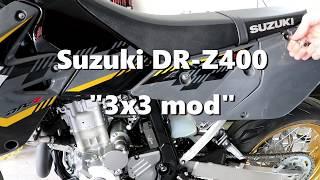 Suzuki DR-Z400 3x3 Mod (High Definition)