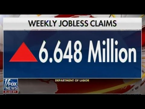 US SHATTERS Unemployment Record As Economy Implodes