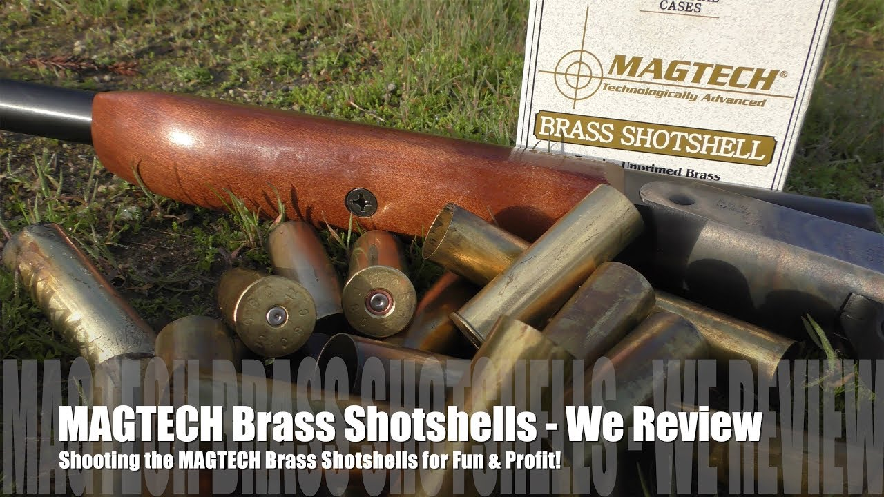 MAGTECH Brass Shotshells - Product Review & How To!