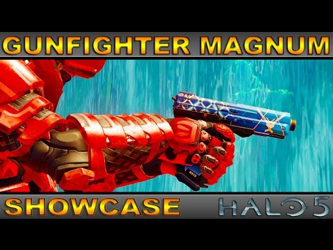 Gunfighter Magnum - Ultra Rare Weapon Showcase - Halo 5 Guardians