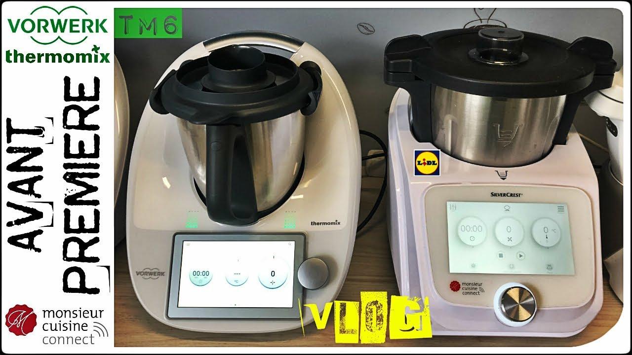 vlog tm6 avant premiere thermomix et monsieur cuisine connect par sand cook look