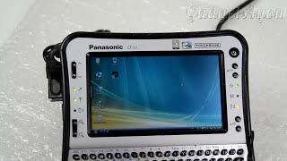 Panasonic CF U1 Military Tablet обзор защищенного планшета