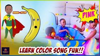Color song|kids learn colors| nursery rhymes/Pretend play