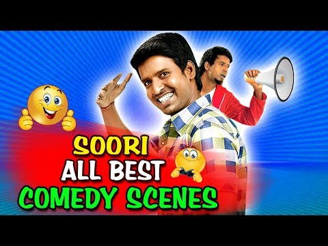 Soori All Best Comedy Scenes | South Indian Hindi Dubbed Best Comedy Scenes