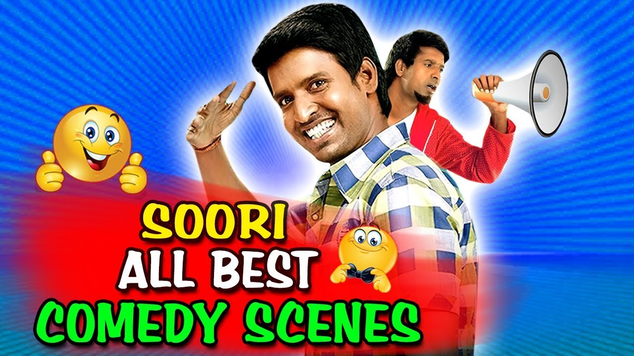 Download Soori All Best Comedy Scenes | South Indian Hindi Dubbed Best Comedy Scenes