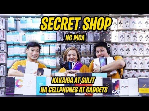 Secret Shop Ng Mga Kakaibang Cellphones At Gadgets!!! Nadiscover Namin Sa Xundd Philippines!!!