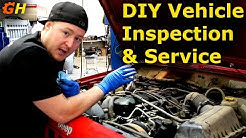 How To Service & Inspect Your Own Vehicle | XJ Jeep Cherokee #3